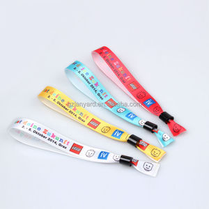 Free customized colorful woven animal print customized bracelets
