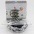 Amazon Hot Sale Metal Wire Iron Foldable Revolving Carousel 36 Pods K-cup Lavazza Coffee Capsule Pod Holder