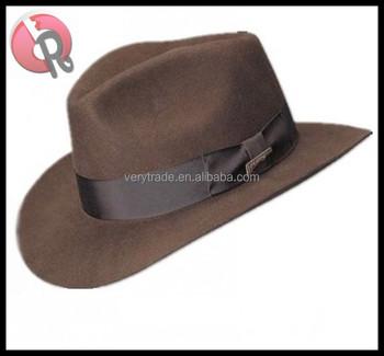 Classic Safari Fedora Gangster Indiana Jones Hat - Buy Classic ... d0bbb0f6804