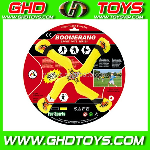 New design cheap boomerang plastic frisbee, funny flying disc, gift toy~~