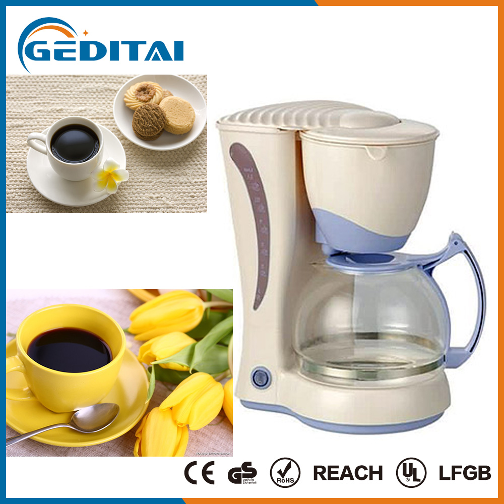 CE approval Low price 12 cups portable drip coffee maker