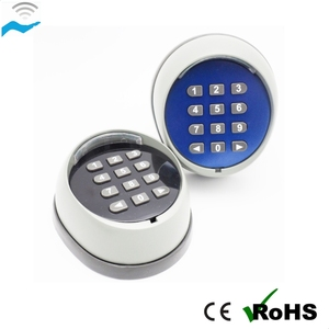wall mounted keypads 433mhz garage door remote control wireless keypad