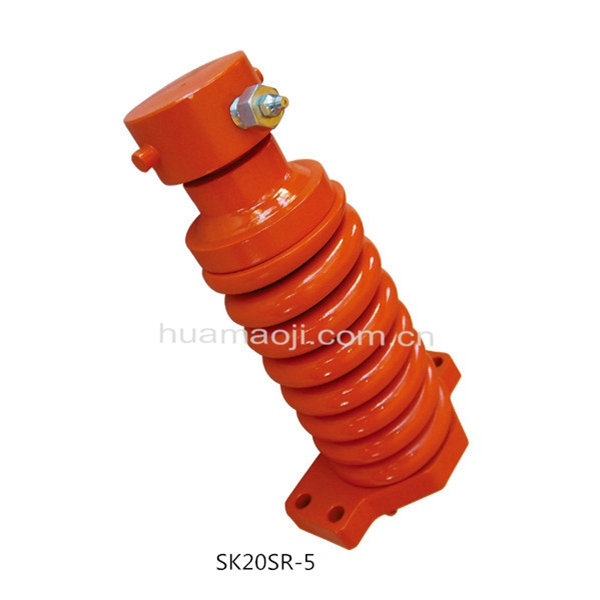 China Manufacturer excavator track recoil tension spring