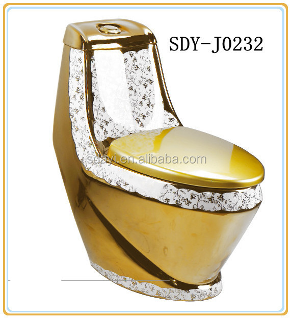 gold plated toilet seat. bathroom gold plated color wc toilet bowl ceramic Bathroom Gold Plated Color Wc Toilet Bowl Ceramic