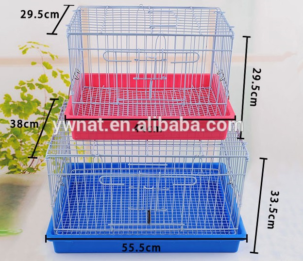 Wire Foldable Rabbit Cage