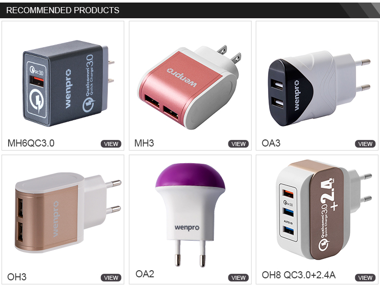 Quality products single port mobile wall charger multi usb charger for iPhone