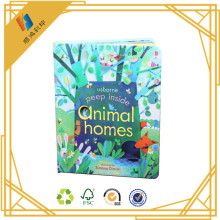 Wholesale children book art paper full color hard cover book,children book printing services