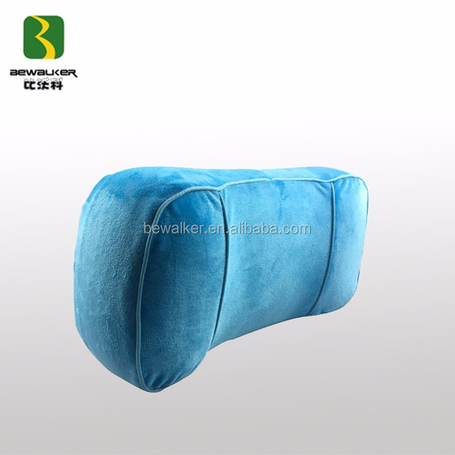 Health Back Bolster Memory Foam Pillow Chair Lumbar Cushion