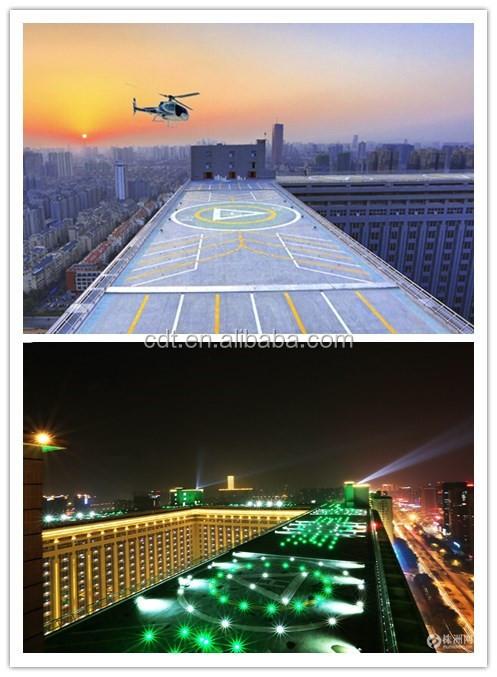 Porject Name M li international Area 380?000 ? Heliport number 8 Helipad lighting supplier CDT & Ce Certificate Portable Airfield Light/helipad Lighting/portable ...