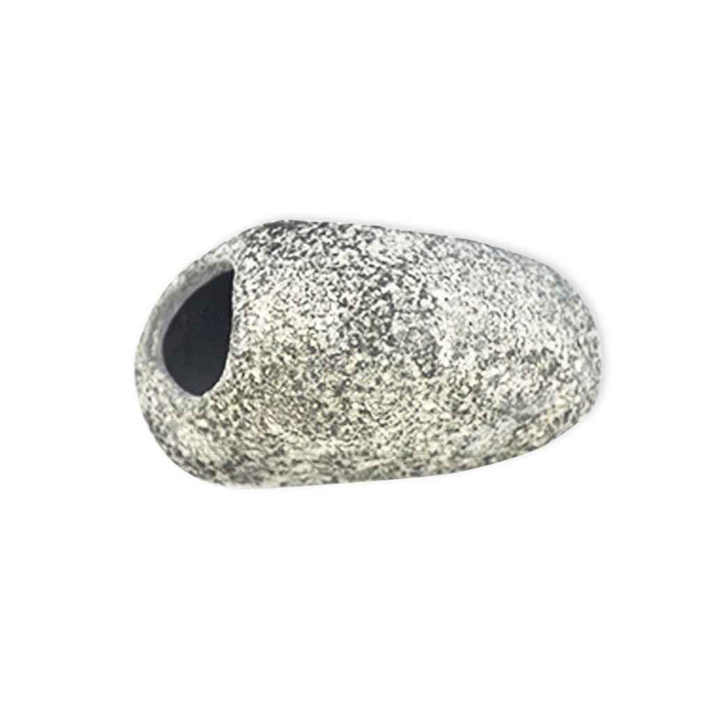Korowa Aquarium Stone Hole Aquarium Ceramic Cave Stone Decoration For Fish Tank Special Design 9.5cm7.5cm5cm