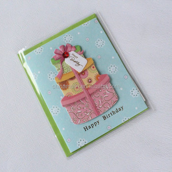 Customized handmade birthday greeting card designs
