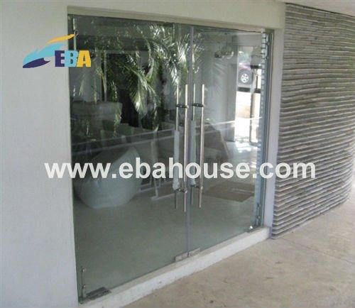principales diseos de puertas de vidrio sin marco