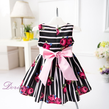 Balloon Shape Dress Cotton Dressing Gown Wholesale Stripe Maxi Dress ...