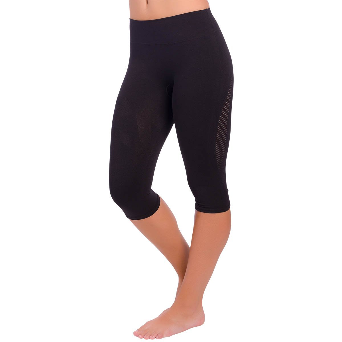 a645e8e85ae99 Zensah High Waisted Capris - Women's Compression 3/4 Tights, High Rise Compression  Pants
