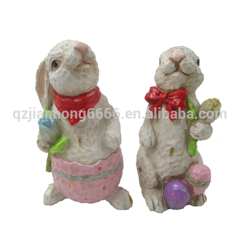 polyresin rabbit gifts toy figurine garden decoration statues