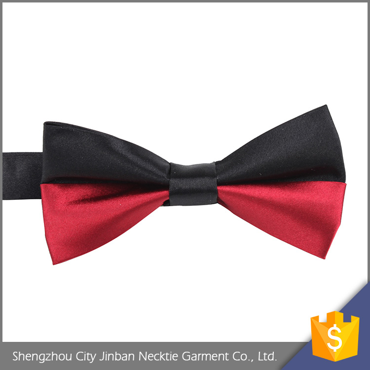 Fashion accessory Adjustable Silk elastic band bow tie cotton