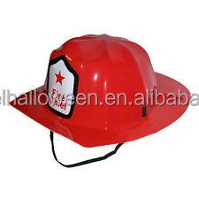 2017 Venta caliente fiesta carnaval plástico rojo bombero sombreros juguete bombero  casco para niños CH2023 5601501496d5