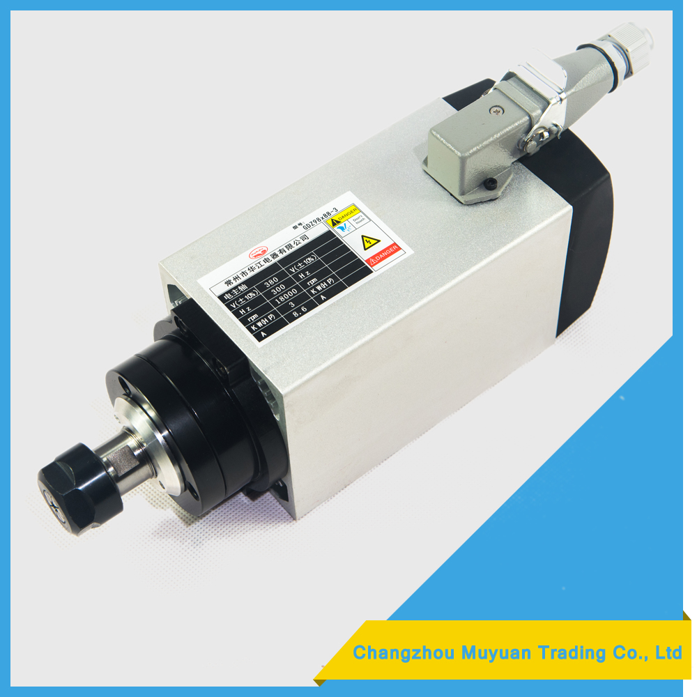 Economic and Efficient cnc 3000w air cooled spindle motor high quality