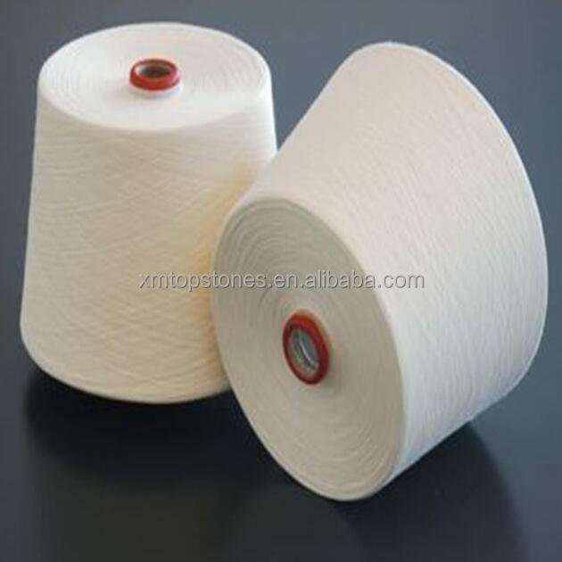 High tenacity 100% pure virgin polyester ring spun yarn for sewing thread 80s