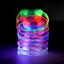 2017 Led Light Products Tpu Wristbands Customized Logo TZ-W230 Tpu New Flashing Led Bracelets