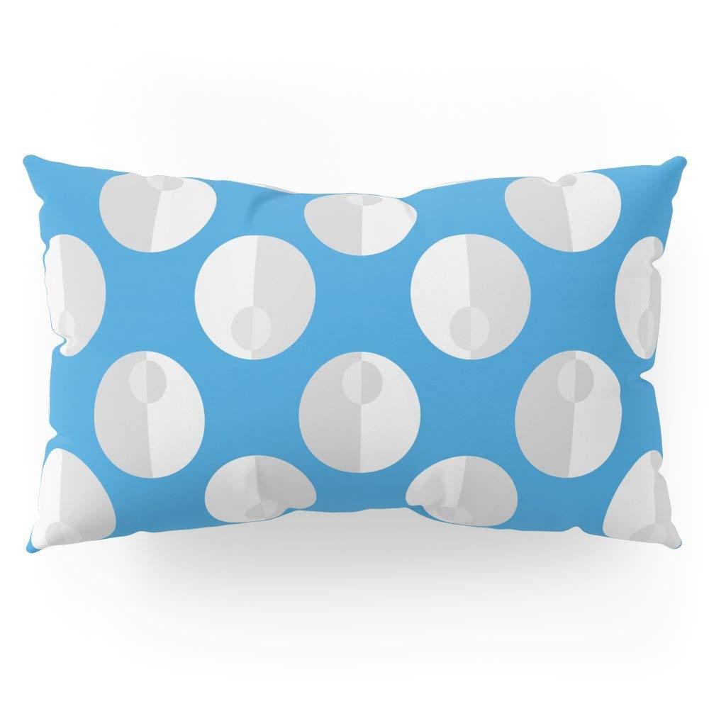 "Society6 Seafoam (blue) Pillow Sham King (20"" x 36"") Set of 2"
