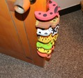 3pcs Kids Baby Cartoon Animal Jammers Stop Edge Corner Guards Door Stopper Holder lock Safety Finger