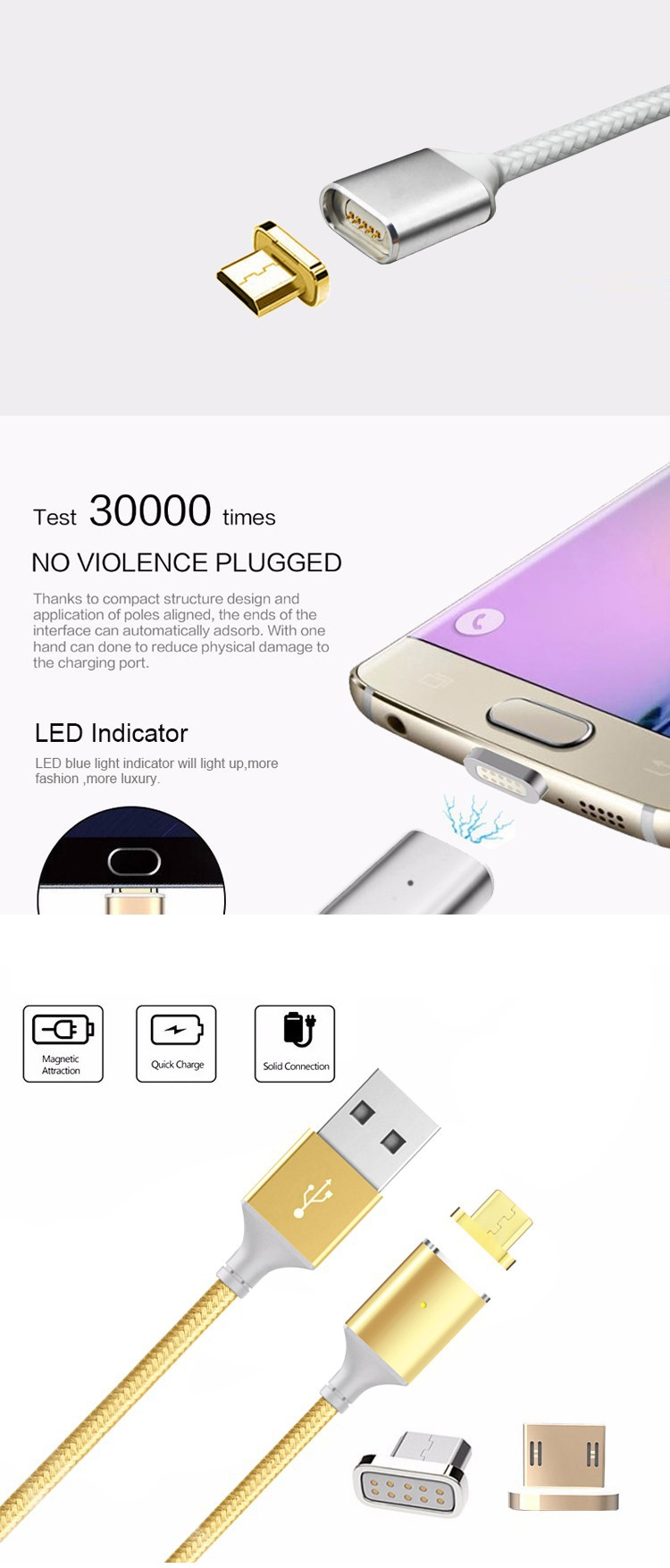 Cellphones & Telecommunications Essager Led Micro Usb Cable 2.4a Fast Charging Data Cord Microusb Charger Cable For Samsung Xiaomi Android Mobile Phone Cables Firm In Structure Mobile Phone Cables