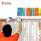 Plastic PVC Strip Curtain Sheet