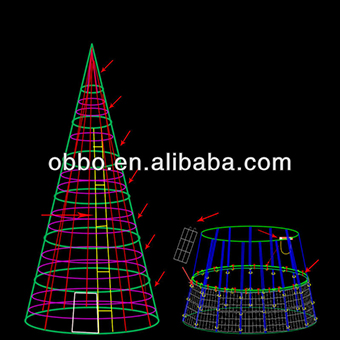 Christmas giant cone tree popular and funny outdoor led christmas christmas giant cone tree popular and funny outdoor led christmas tree bulk christmas aloadofball Gallery