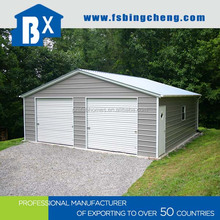 Low Cost Widely Used Water-proof/Fire-proof Steel Frame Garage