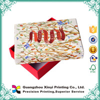 Popular manufactory gift packaging box design printing service on alibaba