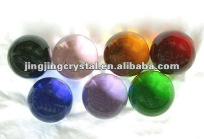 Crystal Crafts Round Ball from China factory RICH in size colour features