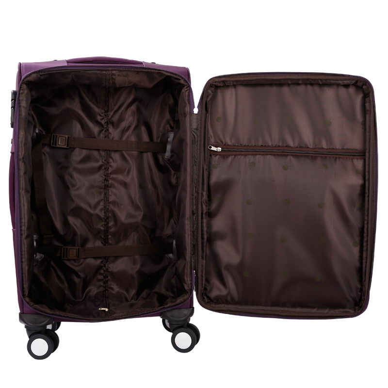 stock 3pcs luggage set 20 24 28inch WaterProof Oxford Luggage Set Suitcase Spinner Softshell lightweight case