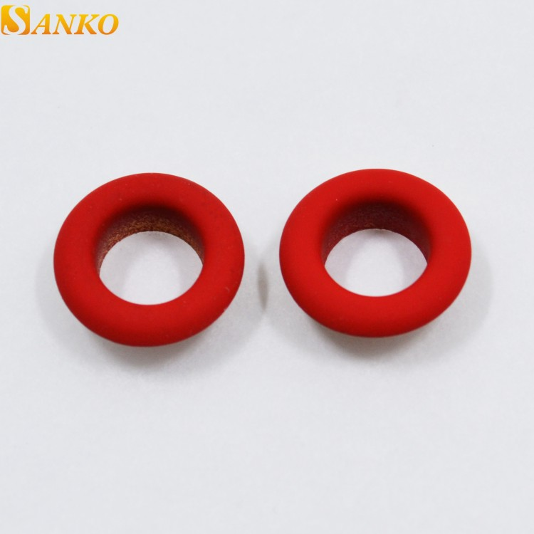 Free sample rubber eyelets for girl's dress in colors фото