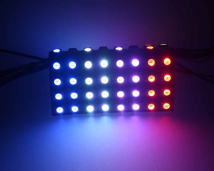 Led screen DC5V WS2812B led sign panel 빛 SMD 5050 rgb 16x16 led matrix