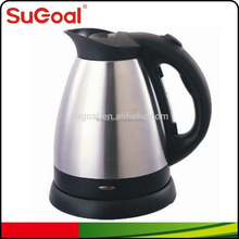 Canton Fair SuGoal Supply Small Kitchen Appliance 1.5 Litre Stainless Steel Tea Kettle with Filter
