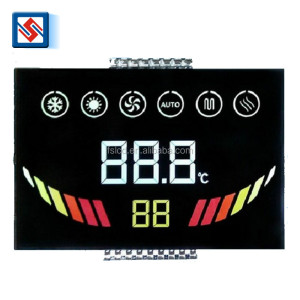 Custom Lcd Screen Digital Monochrome Lcd Module VA LCM Pins Connection Remote Control Lcd Display for Air Condition
