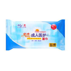 Disposable Natural Soft Adult Wet Tissue Without Alcohol