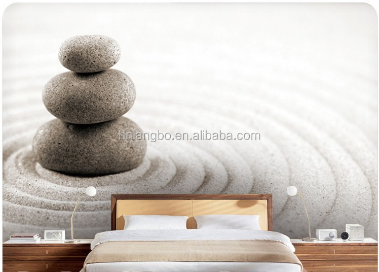 Boeddha Behang. Latest Hoofd Van Een Stenen Buddha Beeld In Sepia ...