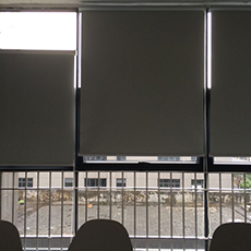 Window shades temporary blinds polyester custom made roller blinds
