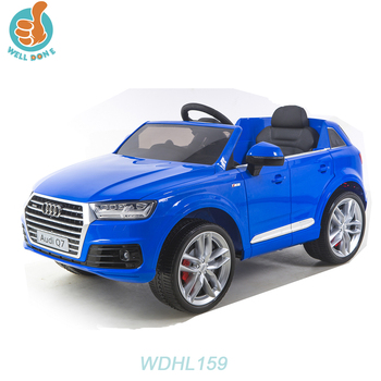 WDHL159 Licensed Audi Q7 Car New With Remote Control, Ce Approved, Double Door Open, Four Wheel Suspension