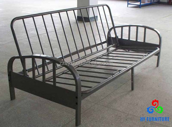 Deluxe Steel Tube Design Folding Futon Sofa Cum Bed Frame With ...
