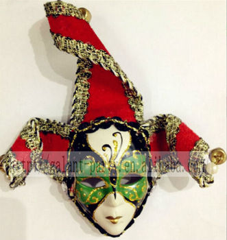 Factory 2014 latest samll cute festival masquerade toy colored refrigerator magnet or door magnet decoration ornaments