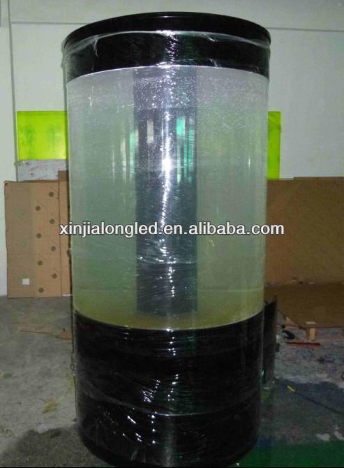 Cylindrique acrylique aquarium rond acrylique aquarium for Prix aquarium rond