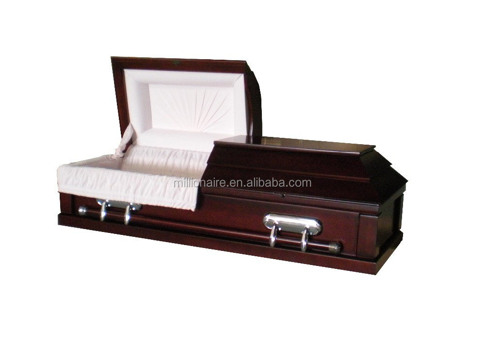Solid Wooden Flat Packed Casket And Coffin Wholesale
