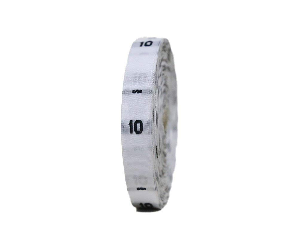 480 Pcs Clothing Size Labels Size Tags White Woven Size No 10