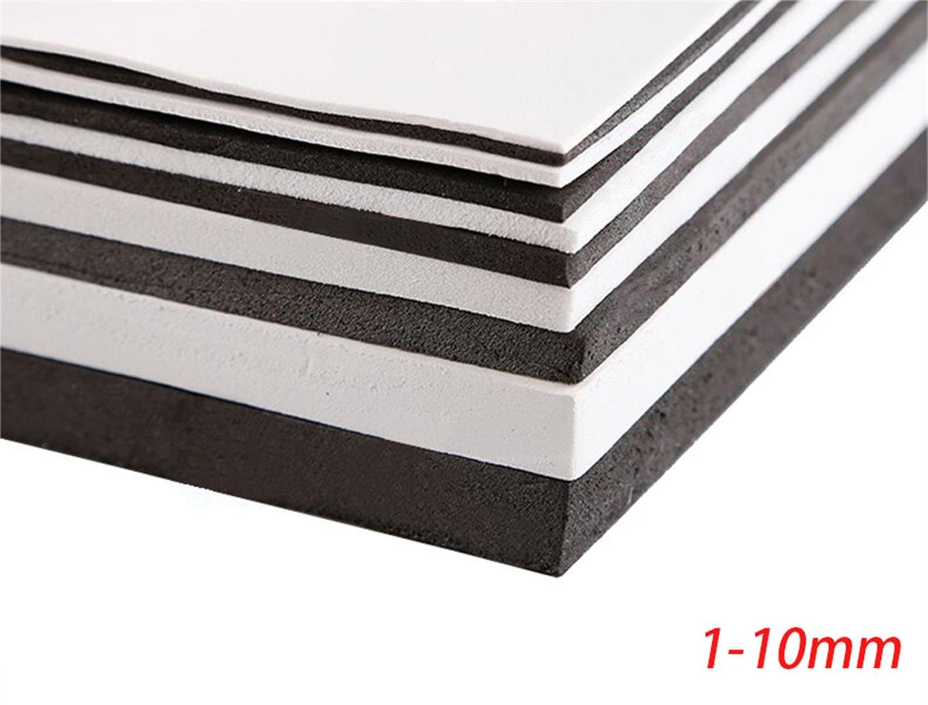 EVA Foam Sheets 35x50cm Kids Handmade DIY Craft Cosplay Model 1~10mm Thick 1Pcs