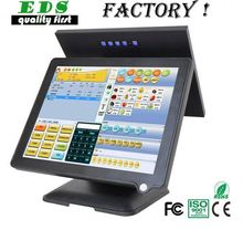 Aluminium shell 15 inch touch screen pos system/pos-terminal/cash register