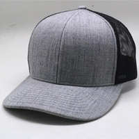 6 panel running sports mesh cap with embroidery design