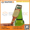 New product custom mini bottle opener with keyring function